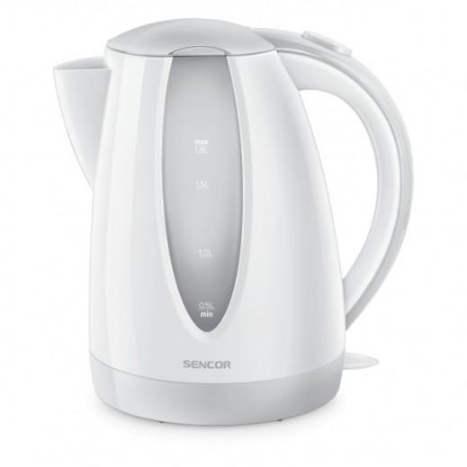 Sencor Electric Kettle 1.8L 2000W - White/Grey