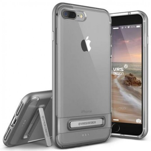 Verus Crystal Bumper For iPhone 7 Plus Steel silver
