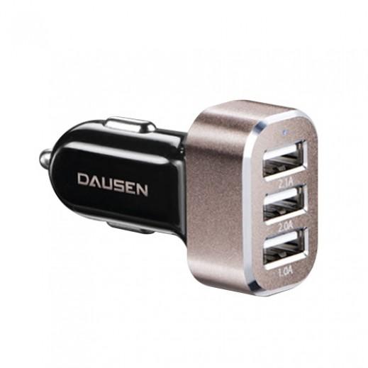 Dausen 3 - port USB Car Charger