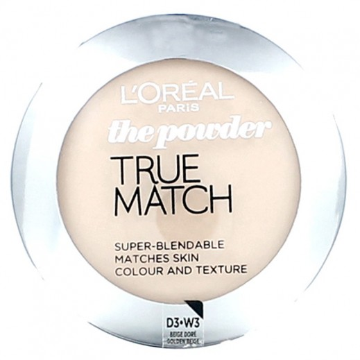 Loreal True Match Powder With Color Of  Golden Beige W3