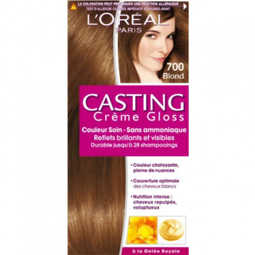 L'oreal Paris Casting Cremegloss Blonde 700 Hair Color