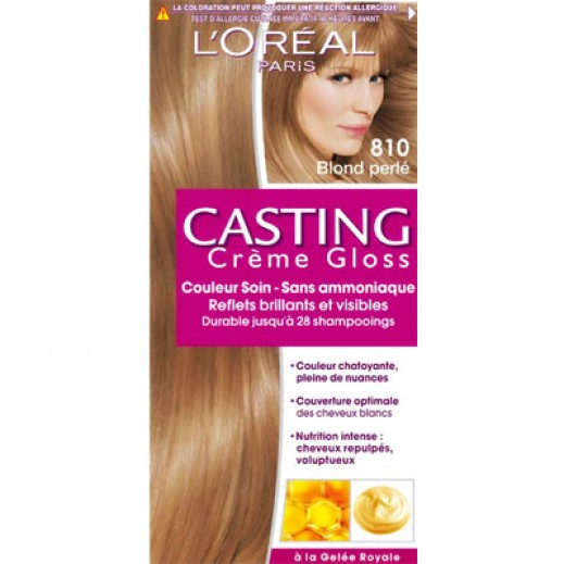 Loreal Paris Casting Creme gloss Pearl Blonde 810 Hair Color