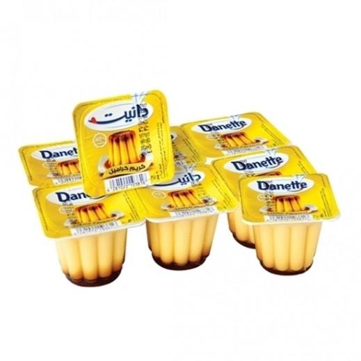 Danette Cream Caramel 80 g 6 + 2 Free