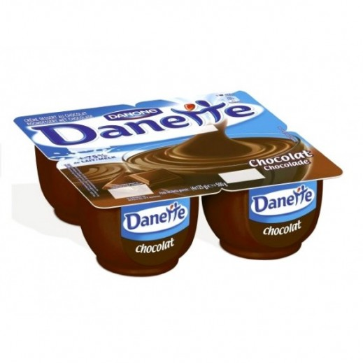 Danette Chocolate Pudding 4 x 90 g