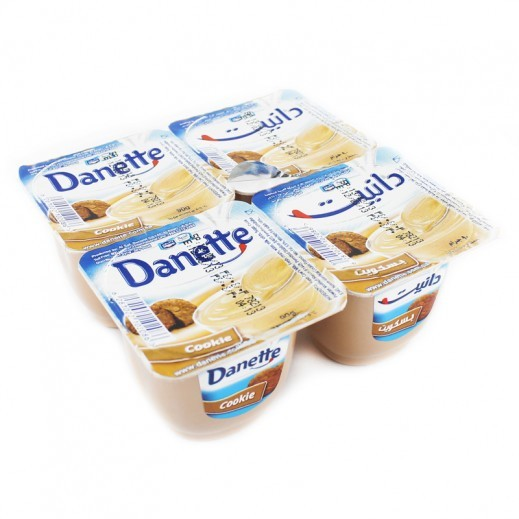 Danette Pudding With Cookie Taste 4 x 90 g