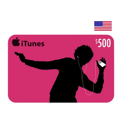 $500 Apple iTunes Card USA- Email Delivery