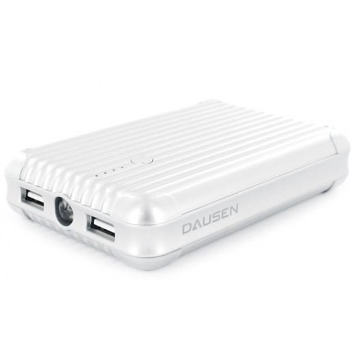 Dausen Travel Mate Power Bank 10400 mAh - White