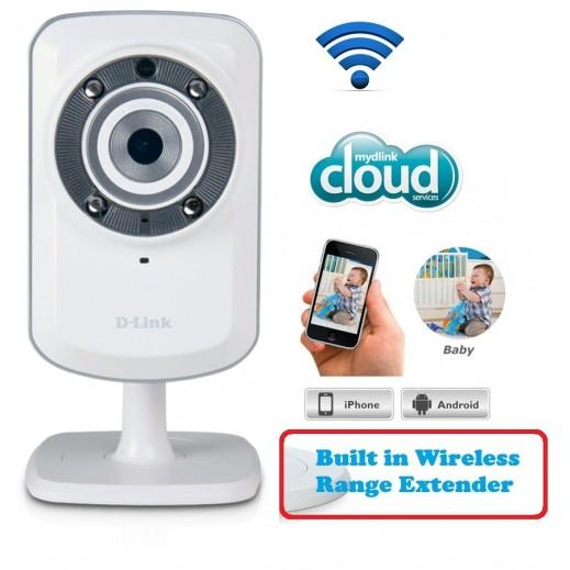 D-Link DCS-931L Wireless Cloud Camera & Wifi Range Extender