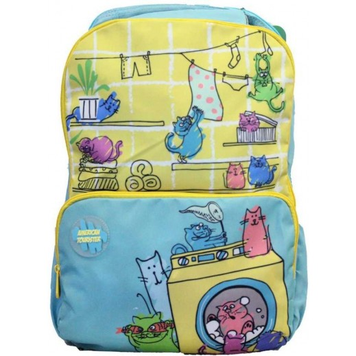American Tourister Diddle 02 Backpack Yellow
