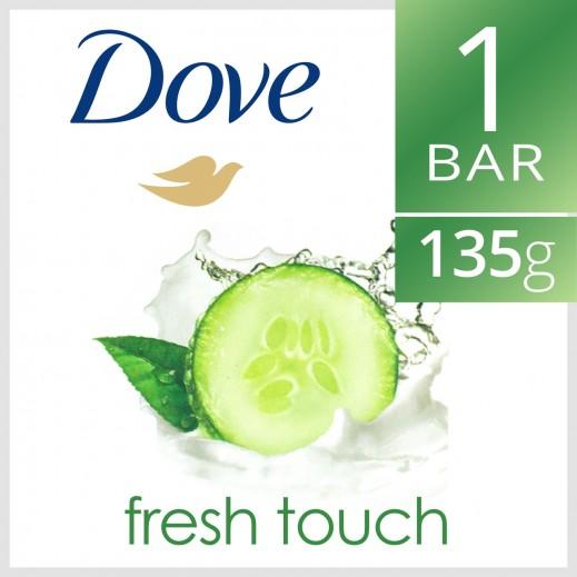 Dove Go Fresh Beauty Cream Bar Soap Fresh Touch 135 g