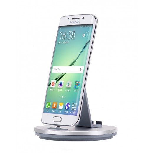 Hoco Mobile  Phone Charging holder For Samsung Devices Silver