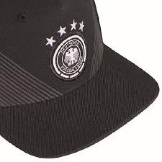 fda60eaf5a7 Adidas DFB Home Flat Cap Black. Adidas
