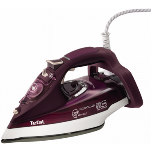 Tefal Steam Iron with Auto-Clean Soleplate & Spray Function 2600W