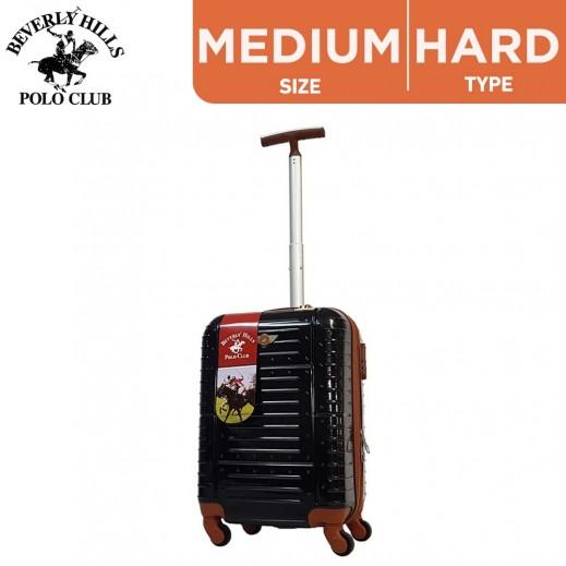 Beverly Hills Polo Club Medium Hard Luggage 66 cm Black