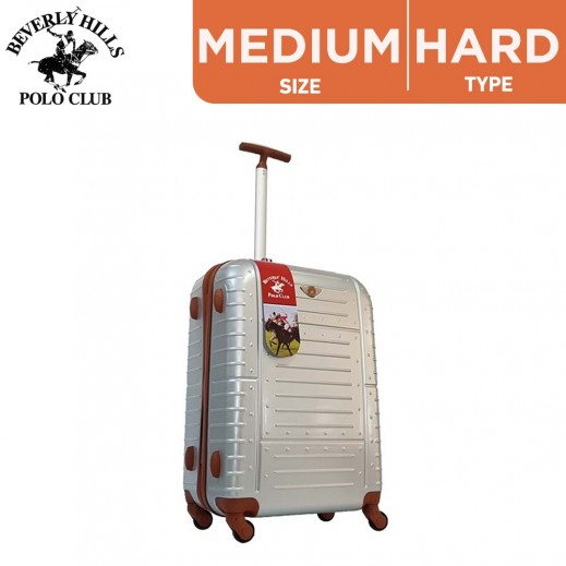 Beverly Hills Polo Club Amor Medium  Hard Luggage 66 cm Gray
