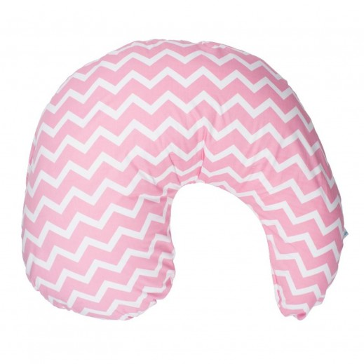 Dr.Brown's Gia Nursing Pillow Cover Pink Chevron