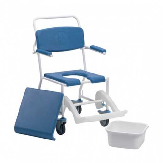 Drive Uppingham Mobile Commode Shower Chair 172 - delivered by Al Essa Company
