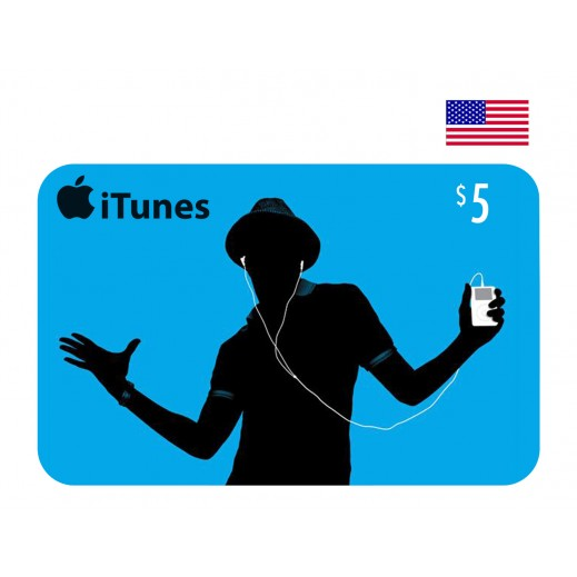 $5 Apple iTunes Card USA - Email Delivery