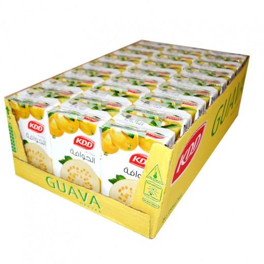 KDD Guava Nectar Juice Carton 24 x 250 ml
