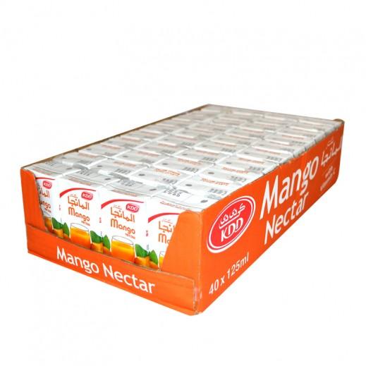 KDD Mango Nectar Juice Carton 40 x 125 ml