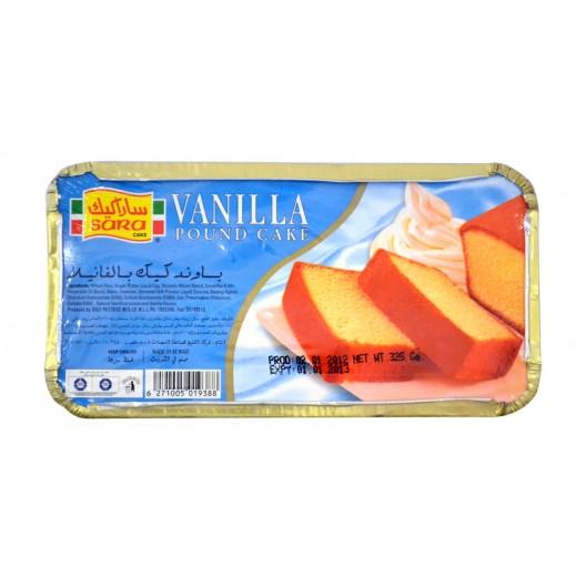 Sara Pound Cake Vanilla 325 g