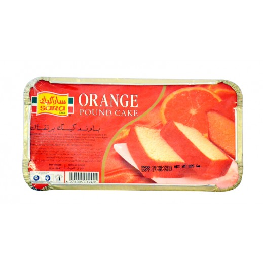 Sara Pound Cake Orange 325 g