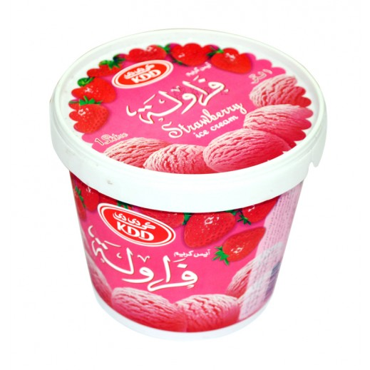 KDD Strawberry Ice cream 1 ltr