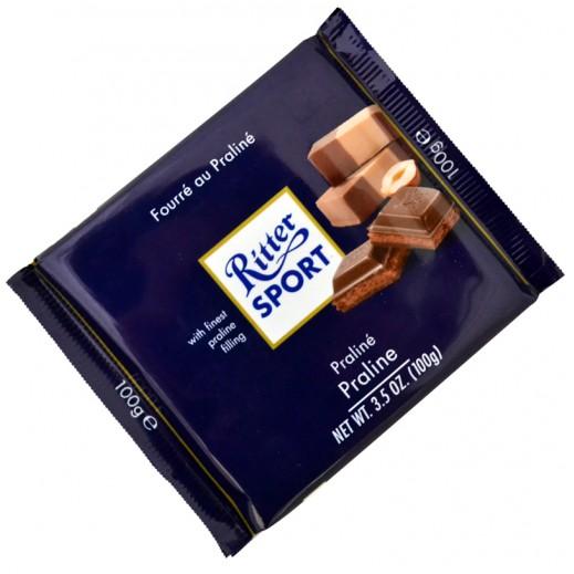 Ritter Sport Praline Chocolate 100 g