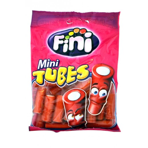 Fini Strawberry Filled Bites Cholestrol Free Candy 100 g