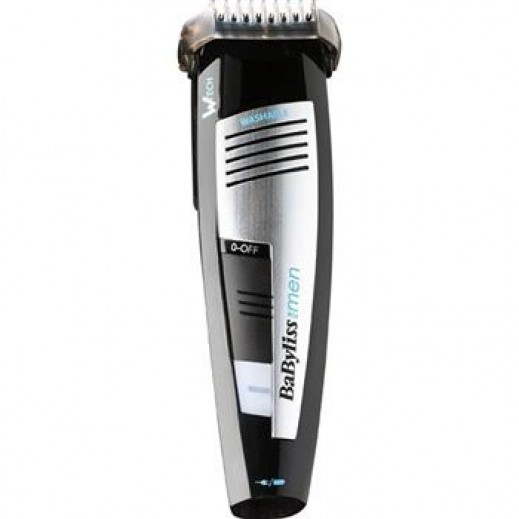 Babyliss Grooved Waterproof Wheel Control Trimmer E846SDE