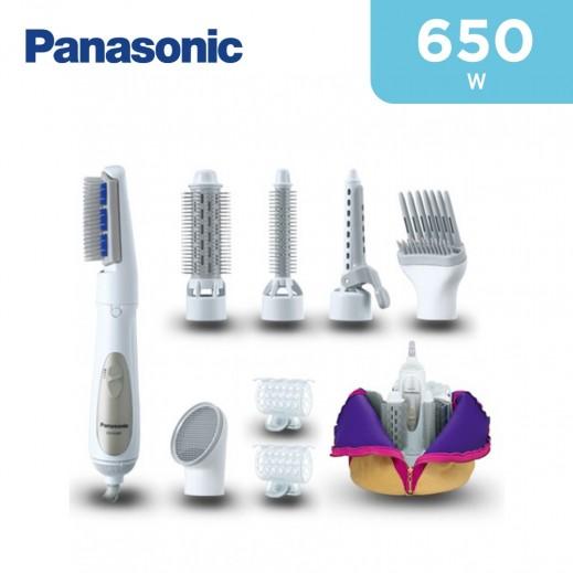 Panasonic 650W Hair Styler With 8 Attachments EH-KA81-W685