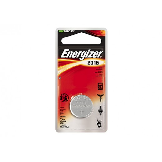 Energizer Lithium Coin Battery 3V - CR2016
