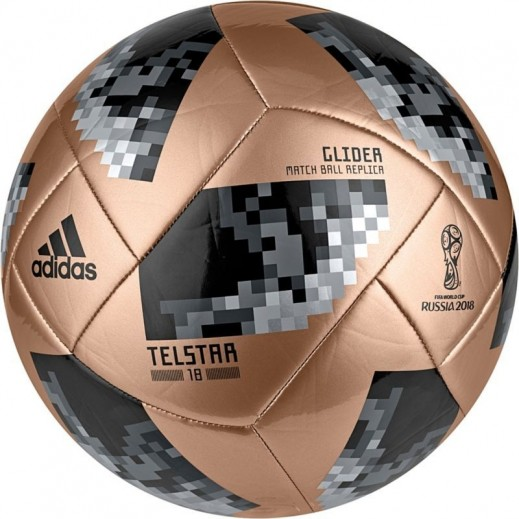 Adidas Telstar World Cup Glide Football Gold & Black Size 5