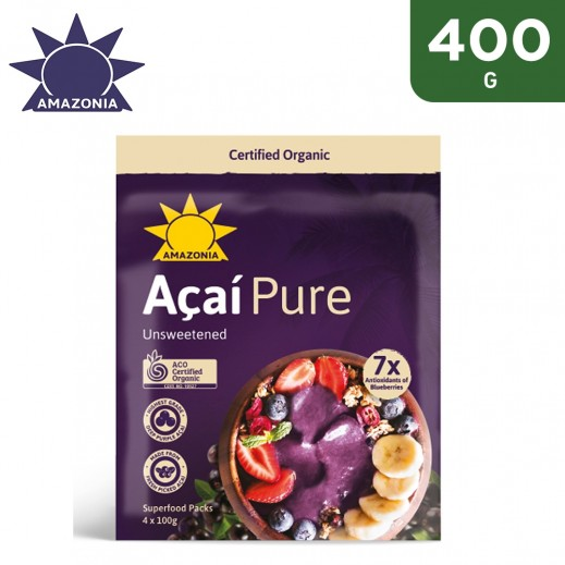 Amazonia Acai Pure Superfruit Packs 400 g