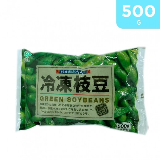 Miho Frozen Edamame Green Soybean 500 g