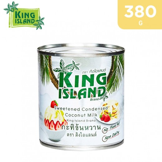 King Island Dairy Free Sweetened Coconut Condensed Milk Can 380 g