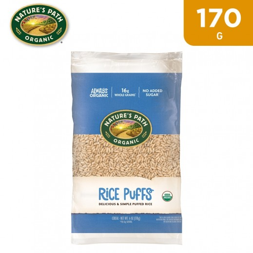 Nature's Path Organic Rice Puff Cereal 170 g