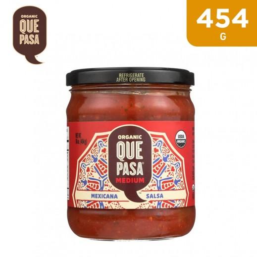 Que Pasa Organic Medium Mexican Salsa 454 g