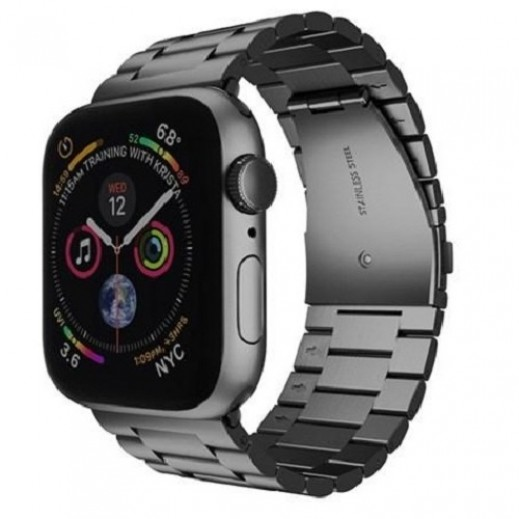 Steel Band for Apple Watch 42/44 mm – Black