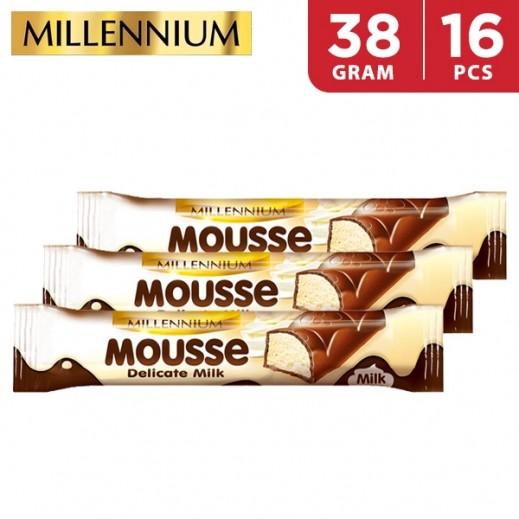 Millennium Mousse Chocolate Milk 16 x 38 g