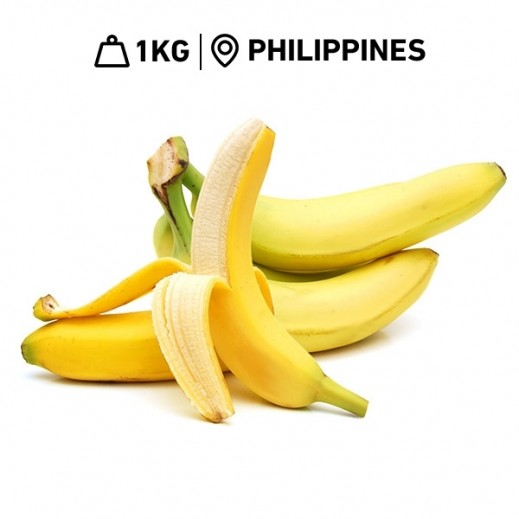 Fresh Philippine Bananas (1 kg Approx.)