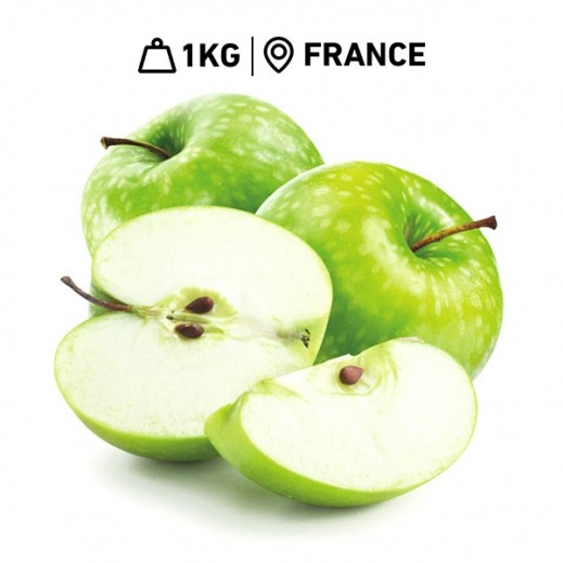 Fresh French Green Apples (1 kg Approx.)