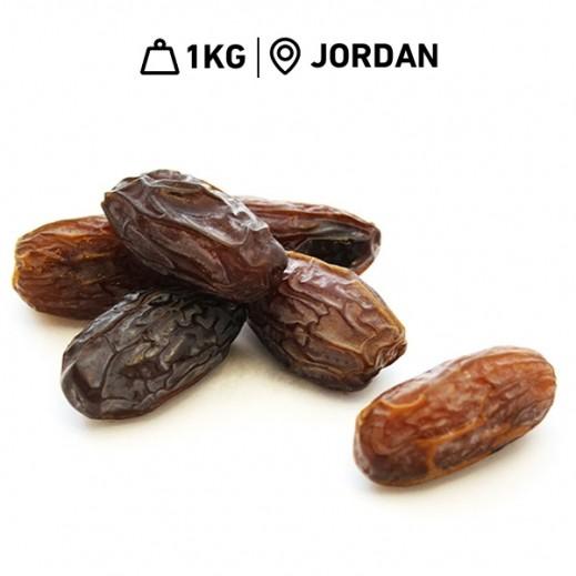 Fresh Delmonte Jordanian Medjool Large Dates 1 kg