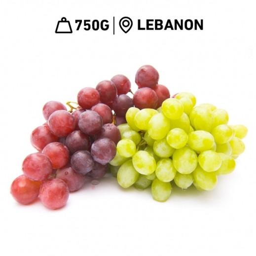 Fresh Lebanese Mix Grapes (750 g Approx)
