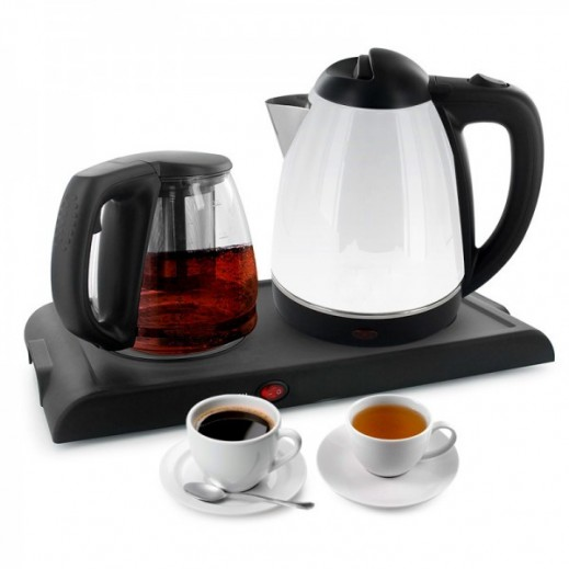 Emjoi Power Tea Maker and Glass Kettle Set