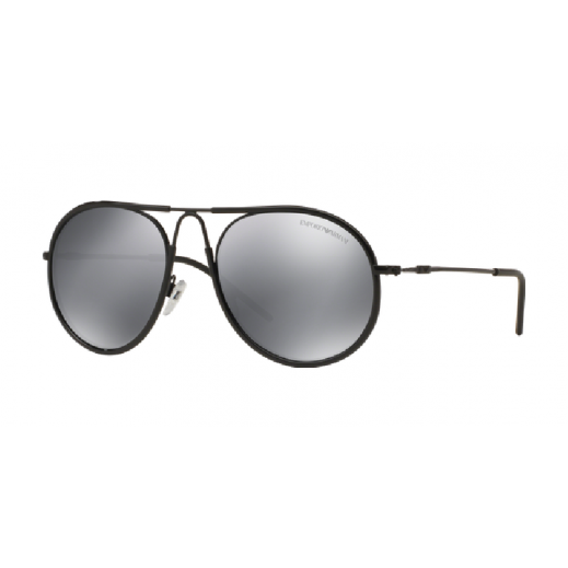 Emporio Armani Black/Grey Mirror Black Unisex Sunglasses EAR 2034 3014 6G 54 mm - delivered by HO Sunglasses