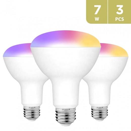 Wifi Smart Led Bulb Project RGB+CW  (3 PCS)