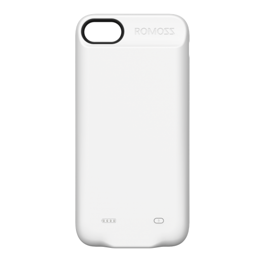 Romoss Backup Case 2,800 mAh for IPhone 7 - White