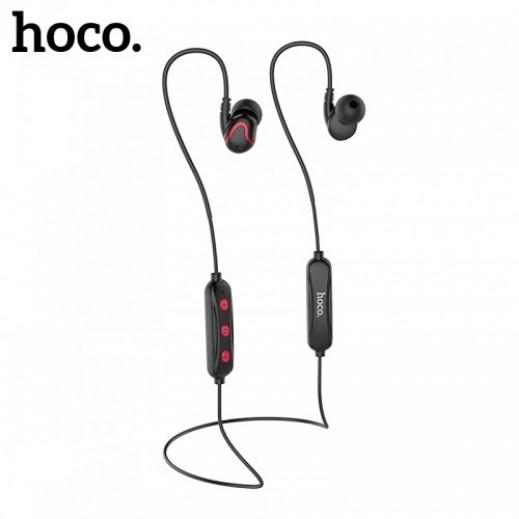 Hoco wireless earphones with Mic - Black