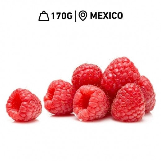 Fresh Mexican Raspberry Pack (170 g)